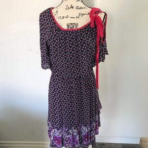 Free People | Lilac Flowered Dress | Size S